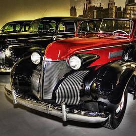 Andrea Kelley - 1941 Packard  and a 1939 Cadillac