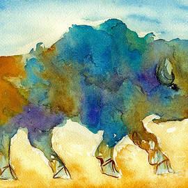 Nan Wright - Roaming Buffalo