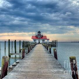 Mel Steinhauer - Roanoke Marshes Light 2