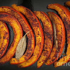 Elena Elisseeva - Roasted pumpkin slices