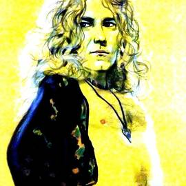 Jim Fitzpatrick - Robert Plant of Led Zeppelin