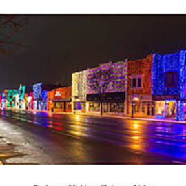 Twenty Two North Photography - Rochester Michigan Christmas Lights