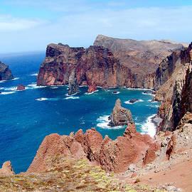 Rumyana Whitcher - Rock Cliffs Bay In Madeira Island
