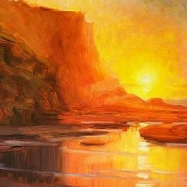 Elena Sokolova - Rock Sunset
