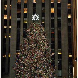 Sonali Gangane - Rockefeller Lighted Christmas Tree