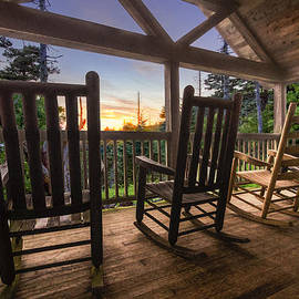 Debra and Dave Vanderlaan - Rocking Chairs on the Porch