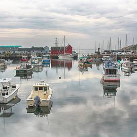 Stephen Stookey - Rockport Harbor and Morif 1