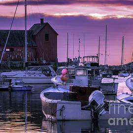 Thomas Schoeller - Rockport Harbor at Sunrise - Open Edition
