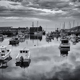 Stephen Stookey - Rockport Harbor View - BW