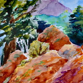 Beverley Harper Tinsley - Rocks Near Red Feather