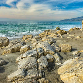 Ken Wolter - Rocks on Beach at Point Dume State Beach