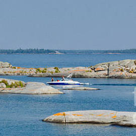Les Palenik - Rocky islands on Georgian Bay