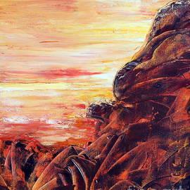 Teresa Wegrzyn - Rocky Landscape