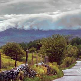 Menega Sabidussi - Rolling Storm Clouds down Cumbrian Hills