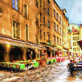 Georgiana Romanovna - Romantic Parisian Luncheon