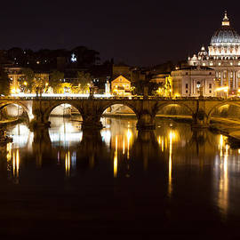 Peter Handy - Rome and the Vatican at Night