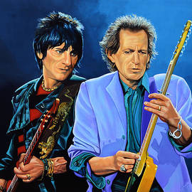 Paul  Meijering - Ron Wood and Keith Richards