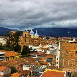 Al Bourassa - Rooftops In El Centro - Cuenca Ecuador