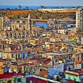 Claude LeTien - Rooftops View