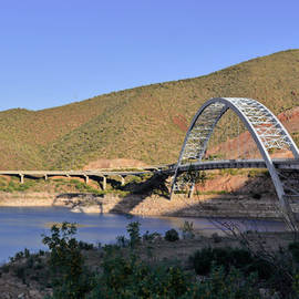 Christine Till - Roosevelt Lake Bridge Arizona