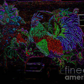 Kelly Awad - Rooster in Neon