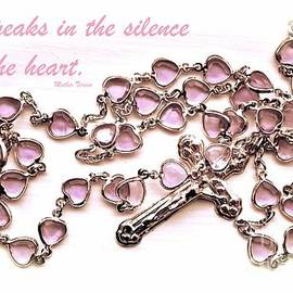 Cindy Nearing - Rosary with Mother Teresa Quote - Inspirational Collection