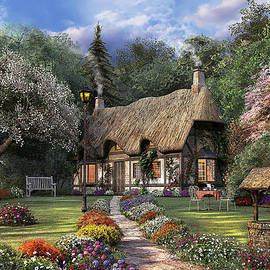 Rose Cottage - Fine Art