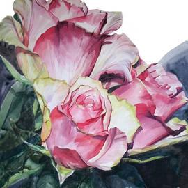 Greta Corens - Pink Rose Michelangelo