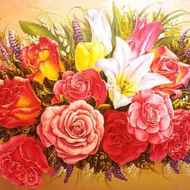 Irina Sumanenkova - Roses And Tulipes