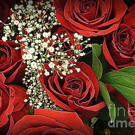 Photographic Art and Design by Dora Sofia Caputo - Roses Are Red