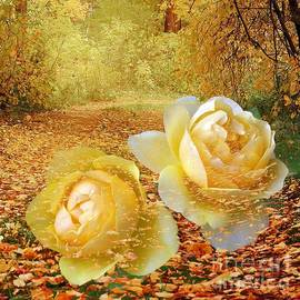 Annie Zeno - Roses In The Woods In Autumn