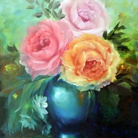 ILONA ANITA TIGGES - GOETZE  ART and Photography  - Roses in Vase
