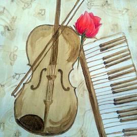 KarishmaticArt -  Karishma Desai - Rosy tunes