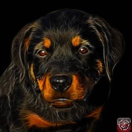 James Ahn - Rottweiler Pop Art 0481 - BB