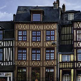 Christine Czernin-Morzin - Rouen - Half Timbered Houses