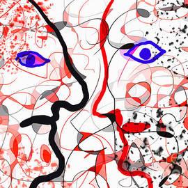 Didier HANSON - Rouge Et Noir Colour Schizophrenia.