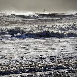 Jim Jones - Rough sea and stormy sky