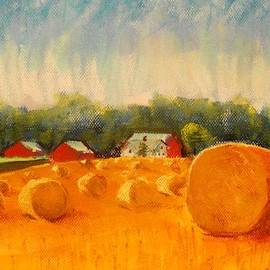 Tim  Swagerle - Round Bales of Straw