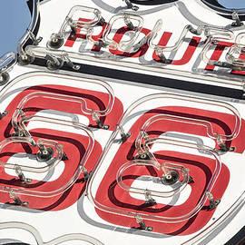 John Wayland - Route 66 Neon Shield