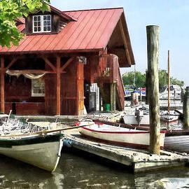 Susan Savad - Alexandria VA - Rowboats by Founders Park