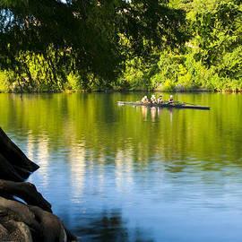 Mark Weaver - Rowing past Red Bud Island