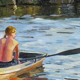 Dominique Amendola - Rowing the boat