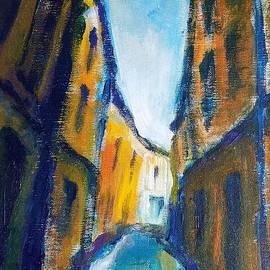 Rodney van den Beemd - Ruelle Aixoise - Alley in Aix