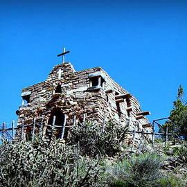 Toni Abdnour - Rugged Chapel Overlooking Santa Fe