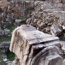 David T Wilkinson - Ruins at the Pool of Bethesda