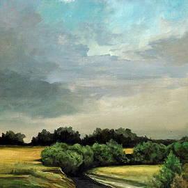 Mikhail Savchenko - Rural landscape