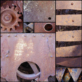 Ann Powell - Rust and Metal Abstract