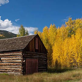 Aaron Spong - Rustic Barn in Autumn
