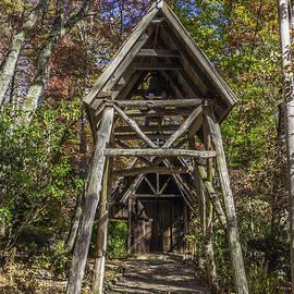 Karen Stephenson - Rustic Entry to the Sanctuary