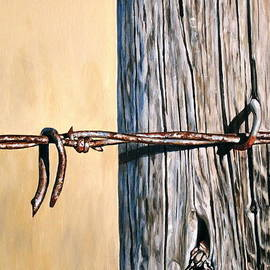 Lillian  Bell - Rusty barbed wire